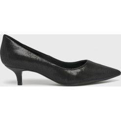 Answear - Czółenka Heritage. Szare buty ślubne damskie ANSWEAR, z materiału, na obcasie. W wyprzedaży za 199,90 zł.