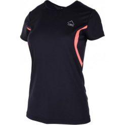 Elbrus Koszulka Berala Wo's Black/Fluo Peach S. Czarne bluzki sportowe damskie marki ELBRUS, s. W wyprzedaży za 34,00 zł.