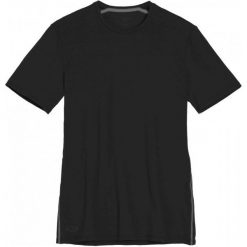 Odzież termoaktywna męska: Icebreaker Koszulka Mens Anatomica Ss Crewe Black/Monsoon L