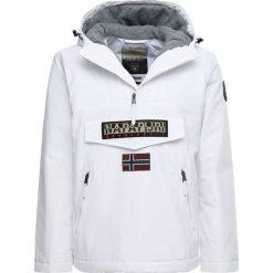 Napapijri RAINFOREST POCKET Kurtka przejściowa bright white. Szare kurtki męskie przejściowe marki Napapijri, l, z materiału, z kapturem. Za 1029,00 zł.