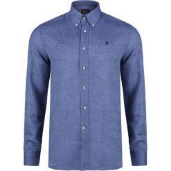 Koszule męskie na spinki: Koszula CONTE OF FLORENCE OREGON Niebieski