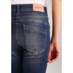 Taifun Jeansy Slim fit blue. Niebieskie jeansy damskie marki Taifun, z bawełny. W wyprzedaży za 299,25 zł.