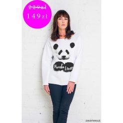 Bluzy damskie: PROMOCJA PANDA LOVER Bluza Oversize