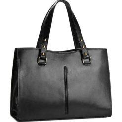 Torebka CREOLE - RBI10146  Czarny. Czarne torebki klasyczne damskie Creole, ze skóry, duże. W wyprzedaży za 309,00 zł.
