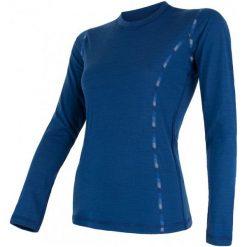 Sensor Damska Koszulka Merino Air Blue  L. Niebieskie bluzki sportowe damskie marki Sensor, l, z materiału. W wyprzedaży za 149,00 zł.