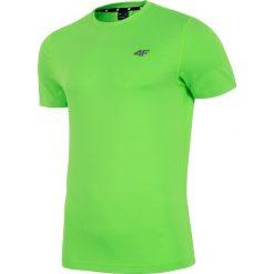 Koszulka treningowa męska TSMF002 - soczysta zieleń neon. Zielone odzież termoaktywna męska 4f, na lato, m, z dzianiny. Za 69,99 zł.
