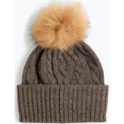 Polo Ralph Lauren - Damska czapka z czystego kaszmiru, szary. Szare czapki damskie Polo Ralph Lauren, z kaszmiru. Za 489,95 zł.
