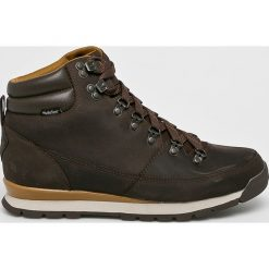 The North Face - Buty. Czarne buty trekkingowe męskie The North Face, z gumy, na sznurówki, outdoorowe. W wyprzedaży za 499,90 zł.