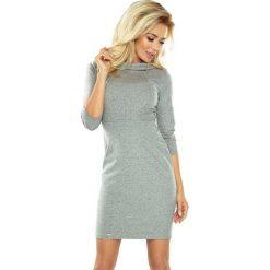 Estella elegancka sukienka - PIEPRZ I SÓL. Różowe sukienki balowe marki numoco, l, z długim rękawem, maxi, oversize. Za 169,99 zł.