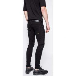 Det - Jeansy Buell. Niebieskie jeansy męskie skinny DET, z bawełny. W wyprzedaży za 179,90 zł.