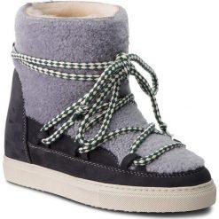 Buty INUIKII - Sneaker 70203-16 Curly Grey. Niebieskie buty zimowe damskie Inuikii, z materiału. Za 1459,00 zł.