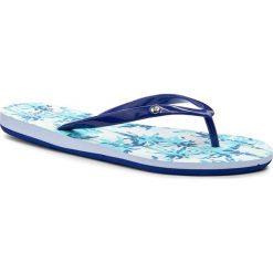 Japonki ROXY - ARJL100551 Buf. Niebieskie crocsy damskie Roxy, z materiału. Za 99,00 zł.