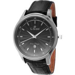Zegarki męskie: Zegarek Gino Rossi męski Topmen czarny (10212A-1A1)