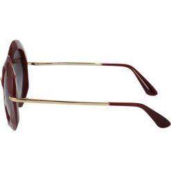 Okulary przeciwsłoneczne damskie aviatory: Dolce&Gabbana Okulary przeciwsłoneczne red