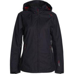 CMP WOMAN FIX HOOD JACKET Kurtka hardshell blue/ibisco. Czerwone kurtki sportowe damskie marki CMP, z materiału. Za 299,00 zł.