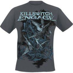 Killswitch Engage Battle T-Shirt ciemnoszary. Szare t-shirty męskie z nadrukiem Killswitch Engage, m, z okrągłym kołnierzem. Za 74,90 zł.