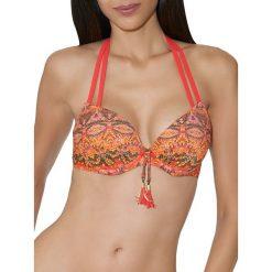 """Biustonosz bikini """"Exotic Waves"""" w kolorze czerwonym. Czerwone biustonosze Aubade Beachwear & Dessous. W wyprzedaży za 216,95 zł."""
