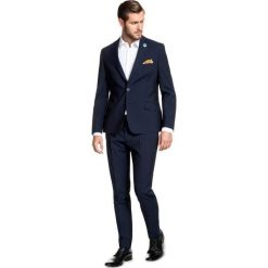 Garnitur LEONARDO GXGS900034. Niebieskie garnitury marki Giacomo Conti, m, z tkaniny, klasyczne. Za 1498,00 zł.