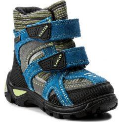 Buty zimowe chłopięce: Śniegowce BARTEK – 21929-0RE Niebiesko Szary