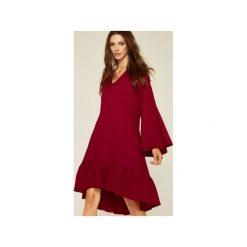 Sukienki hiszpanki: Sukienka Laura bordowy