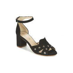 Sandały France Mode  ODEON SETE. Czarne sandały damskie France Mode. Za 411,80 zł.