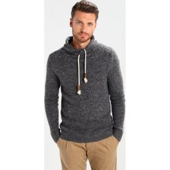 Swetry klasyczne męskie: Key Largo VINCE Sweter dark grey melange