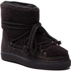 Buty zimowe damskie: Buty INUIKII - Sneaker Curly 70202-16 Black-Blk Cot. Laces