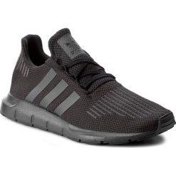 Buty adidas - Swift Run CG4111 Cblack/Utiblk/Cblack. Czarne buty sportowe męskie marki Adidas, z materiału. W wyprzedaży za 259,00 zł.