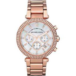 ZEGAREK MICHAEL KORS LADIES ROSE GOLD TONE MK5491. Białe zegarki damskie Michael Kors, ze stali. Za 1369,00 zł.