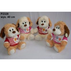 Przytulanki i maskotki: Maskotka Pies w koszulce  (P2328)