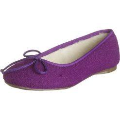 """Kapcie damskie: Kapcie """"Ballerina"""" w kolorze fioletowym"""
