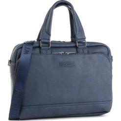 Torba WITTCHEN - 87-4P-113-N Granatowy. Niebieskie torebki klasyczne damskie Wittchen, ze skóry ekologicznej. Za 319,00 zł.