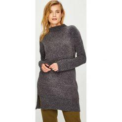 Answear - Sukienka. Szare sukienki mini marki ANSWEAR, na co dzień, l, z poliesteru, casualowe, proste. Za 129,90 zł.
