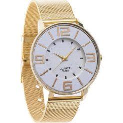 Złoty Zegarek Be Silent. Żółte zegarki damskie Born2be, złote. Za 24,99 zł.