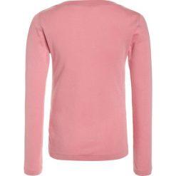 Bluzki dziewczęce bawełniane: Polo Ralph Lauren CREWNECK Bluzka z długim rękawem rugby pink