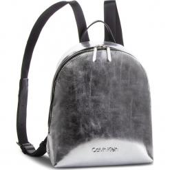 Plecak CALVIN KLEIN - Snap Sml Backpack Met K60K604926 067. Szare plecaki damskie Calvin Klein, ze skóry ekologicznej. Za 549,00 zł.