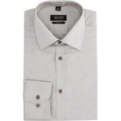Koszula bexley 2221 długi rękaw slim fit szary. Szare koszule męskie slim marki Recman, na lato, l, w kratkę, button down, z krótkim rękawem. Za 89,99 zł.