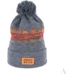 Czapka unisex Universal winter szara. Szare czapki zimowe damskie Art of Polo. Za 36,52 zł.