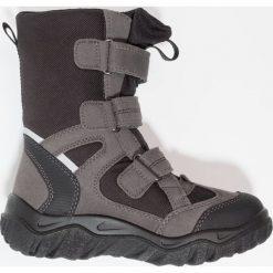 Superfit HUSKY2 Śniegowce stone. Szare buty zimowe chłopięce marki Superfit, z materiału. Za 379,00 zł.