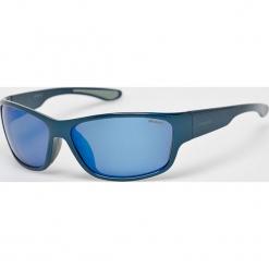 Polaroid - Okulary PLD3015S. Brązowe okulary przeciwsłoneczne męskie aviatory Polaroid, z materiału, prostokątne. Za 339,90 zł.