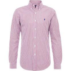 Polo Ralph Lauren SLIM FIT Koszula wine/white. Szare koszule męskie slim marki Polo Ralph Lauren, l, z bawełny, button down, z długim rękawem. Za 459,00 zł.