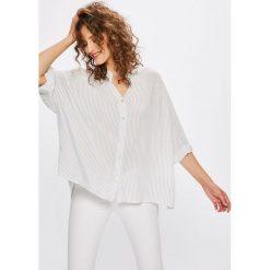 Answear - Koszula Stripes Vibes. Niebieskie koszule damskie marki ARTENGO, z elastanu, ze stójką. W wyprzedaży za 59,90 zł.