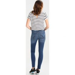 Hollister Co. STRECH HIGH RISE SUPER SKINNY  Jeans Skinny Fit medium wash. Szare jeansy damskie Hollister Co. W wyprzedaży za 174,30 zł.