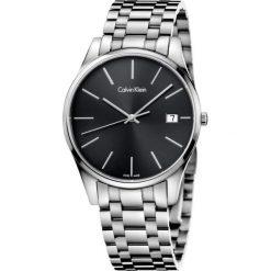 ZEGAREK CALVIN KLEIN TIME K4N21141. Czarne zegarki męskie Calvin Klein, szklane. Za 1199,00 zł.