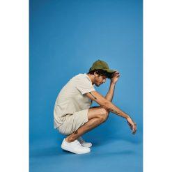 Medicine - Koszula Basic. Szare koszule męskie na spinki marki S.Oliver, l, z bawełny, z włoskim kołnierzykiem, z długim rękawem. W wyprzedaży za 59,90 zł.
