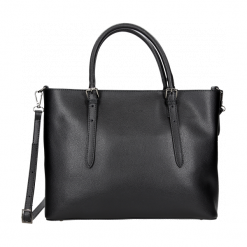Torebka damska. Czarne torebki klasyczne damskie Wojas, duże. Za 459,00 zł.