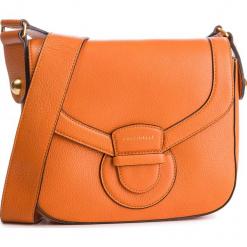 Torebka COCCINELLE - DS0 Vega E1 DS0 12 01 01 Flash Orange R12. Brązowe listonoszki damskie Coccinelle, ze skóry, zdobione. Za 1499,90 zł.