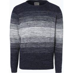 Swetry męskie: DENIM by Nils Sundström – Sweter męski, niebieski