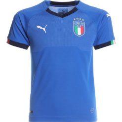 Puma FIGC ITALIEN HOME REPLICA Koszulka reprezentacji team power blue/peacoat. Niebieskie t-shirty chłopięce marki Puma, z materiału. W wyprzedaży za 209,30 zł.