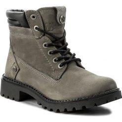 Trapery WRANGLER - Creek WL172500 Grey 55. Szare buty zimowe damskie marki Wrangler, z materiału. W wyprzedaży za 289,00 zł.
